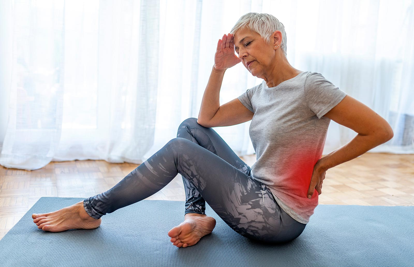 Does aerobic exercise cure lower back pain?